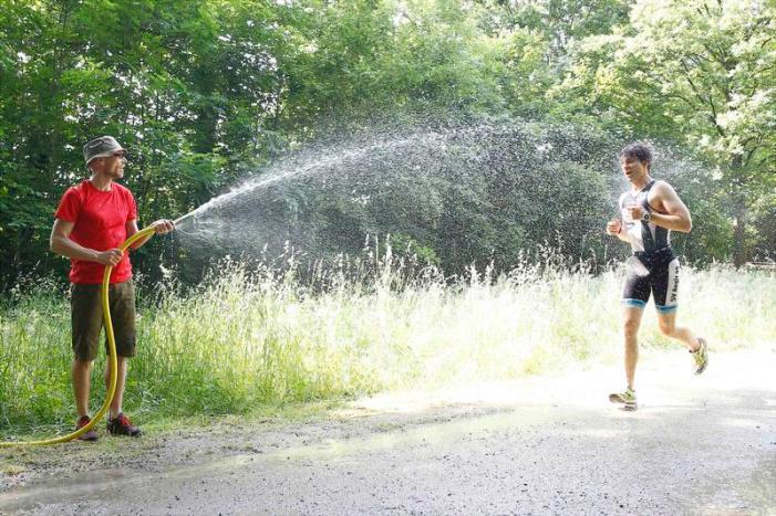 04.06.2016, , Hannover, Wasserstadt-Triathlon