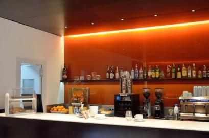 Café im Museo Picasso (Málaga)