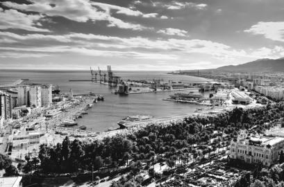 Hafenansicht (Malaga)