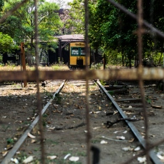 Bahnhof in Sonsonate