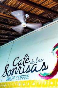 Caféwand mit Ventilator