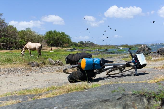 Pause am Lago Nicaragua
