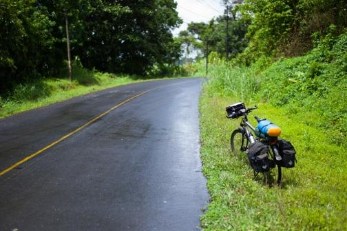 Regenwetter an der Laguna Arenal