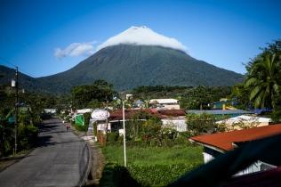 Vulkan Arenal am Morgen